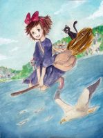 Kiki's Delivery Service by akifei