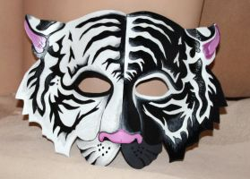 Yin Yang Tiger Mask by Lady-Cass