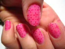 Pattern Nails by verona9