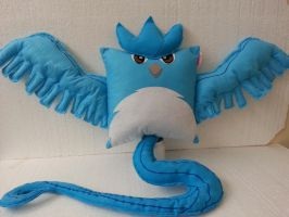 Handmade Anime Pokemon Articuno Plush Pillow by RbitencourtUSA