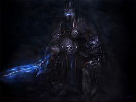 The Lich King by RuslanKadiev
