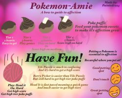 Pokemon Amie Info/Help by Painted1994