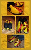 Kill Bill shoes by cool-slayer