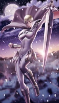 Jean from Claymore by NinjArt1st