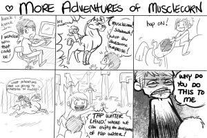 More musclecorn adventures by yourTOESareMISSING