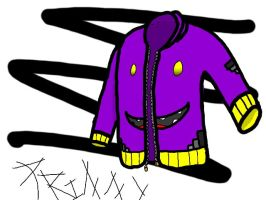 Jacket design for my character (without buttons) by firedmetor