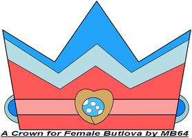 A Crown for Female Butlova by MarioBlade64