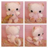 Pink Roses PatterKitty by ChibiWorks