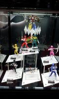 NYCC 2013 - Power Rangers D-Arts Figures by DestinyDecade