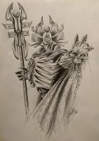 Imotekh the Stormlord by CeciliaMV-Art