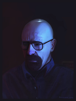 Walter White Portrait by Felynea