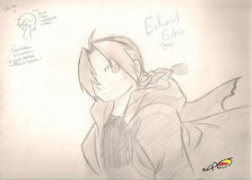 Edward Elric -- again by Fuzzlespup