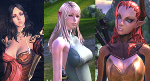 Girls of Tera by ImTheOneNextToMe