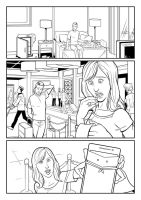 ANZ Promo Comic line art : 3 by sharpbrothers