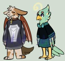Anthro Adopts *OPEN* by Skull-gum