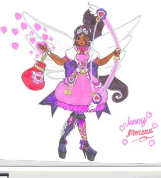 Cupid Jenny Moreau by Winter-Colorful