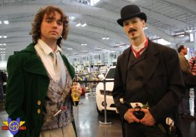8th Doctor and Drake Sinclair Cosplay - NYCC 2013 by ConMenWebSeries