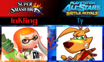 Inkling vs Ty by SonicPal