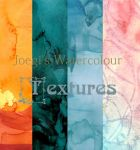Watercolour Textures by WatchingOverU