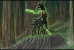 Zygarde 10% Form by eclipse4d