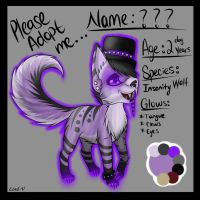 Insanity Adoptable Auction 2! [CLOSED!] by Xx-Lord-V-xX