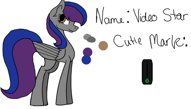 Video Star Color Guide by Jessi-Draws