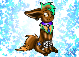 Twis new eevee form AGAIN by Trixiemegatoon