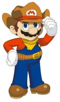 Mario Party 2 outfit shaded by supermario228