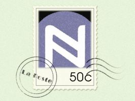 Namecoin Paper Wallet Stamp by Namecoin