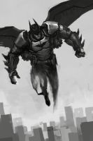 Sketch_11 Batman by lordbaells
