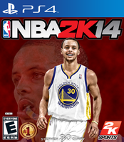 NBA 2K14 Curry cover by chronoxiong