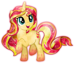 Rainbow Power: Crystal Sunset Shimmer by TheShadowStone