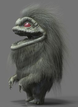 Krite (Critters) Zbrush WIP by FoxHound1984