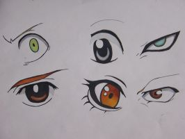 Anime Eyes by partyboy3543