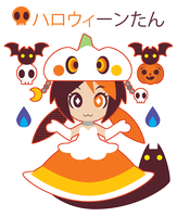 Halloween-Tan Princess ::CONT:: by Itachi-Roxas