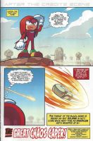 Sonic Universe #62 Alternate Ending page by dth1971
