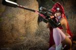 Yoko Littner Cosplay: NO SCOPE TO THE FACE by Khainsaw
