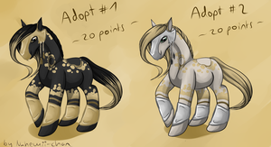 Adopt Armed Horse - closed by Nahemii-chan