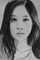 Girl Sketch by ChinMa
