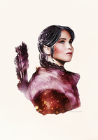 Katniss - Symbol of the Rebellion by itsmichelee