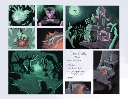 Hand Castle - Environment Thumbs by CatCouch