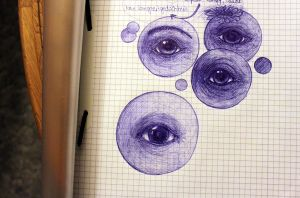 Eye practice ~ by fetchingfeast