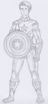.: When Captain America Throws His Mighty Shield! by MysticalFiregirl