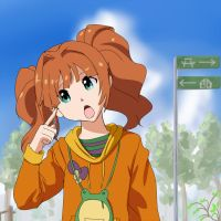 Yayoi is Puzzled by wbd