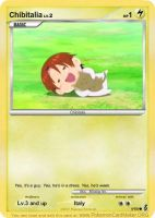 Chibitalia-Pokemon Card by VampireKiller128