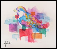 Colourbird by pitch-kee