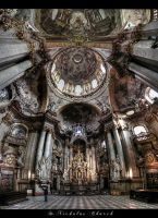...St. Nicholas Church...Prague by erhansasmaz