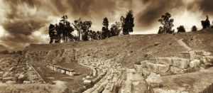 Greece - Sparta - Theatre - 01 by GiardQatar