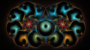 Fractal Wallpaper LIX:Everything Must Go by ScraNo