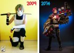 My First and Latest Cosplay by Semashke